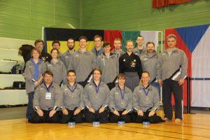 Iaido Belgian Team 2013 - Team taikai silver medal